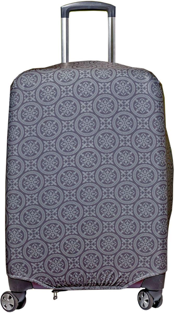Чехол для чемодана Fancy Armor Travel Suit Eco. Фортуна, размер M/L (52-65 см)FTS_ECO_010Чехол Fancy Armor Travel Suit Eco. Фортуна предназначен для чемоданов высотой 52-65 см, выполнен из спандекса - легкого, эластичного и стойкого к разрыву материала, плотностью 240 г/см3. Универсальный чехол для большого чемодана защищает чемодан и вещи от грязи и повреждений, заменяет пленку в аэропорту и позволяет сэкономить время и деньги на упаковке багажа, а также поможет безошибочно отличить свой чемодан. Запатентованная выкройка обеспечивает идеальную посадку, а высокое качество пошива и используемых материалов гарантирует долгую службу чехла. Обработанные силиконовой резинкой вырезы специальной формы обеспечивают удобный доступ ко всем ручкам чемодана.