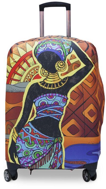 Чехол для чемодана Fancy Armor Travel Suit Eco. Африка, размер M/L (52-65 см)FTS_ECO_019Чехол Fancy Armor Travel Suit Eco. Африка предназначен для чемоданов высотой 52-65 см, выполнен из спандекса - легкого, эластичного и стойкого к разрыву материала, плотностью 240 г/см3. Универсальный чехол для большого чемодана защищает чемодан и вещи от грязи и повреждений, заменяет пленку в аэропорту и позволяет сэкономить время и деньги на упаковке багажа, а также поможет безошибочно отличить свой чемодан. Запатентованная выкройка обеспечивает идеальную посадку, а высокое качество пошива и используемых материалов гарантирует долгую службу чехла. Обработанные силиконовой резинкой вырезы специальной формы обеспечивают удобный доступ ко всем ручкам чемодана.