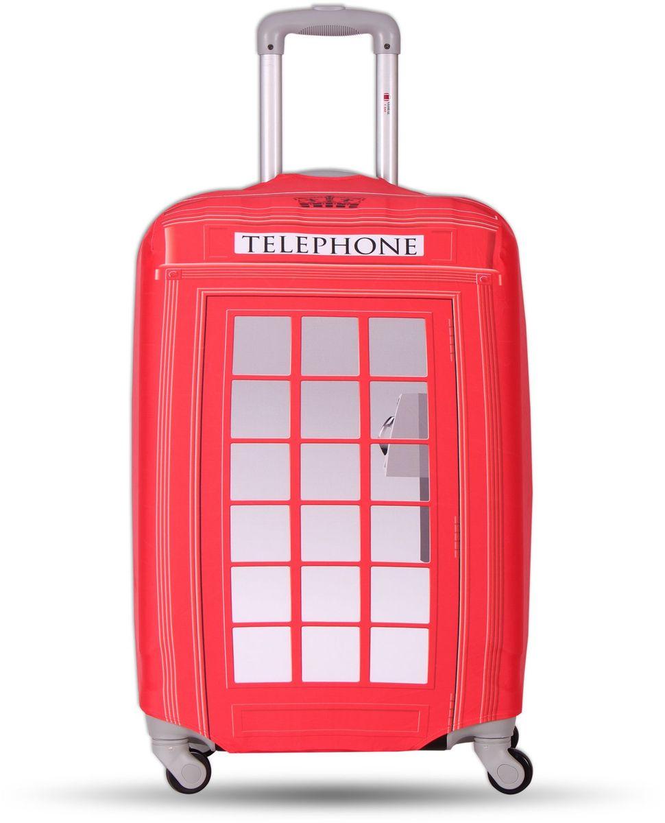 Чехол для чемодана Fancy Armor Travel Suit Eco. Телефон, размер XL (60-75 см)FTS_ECO_821Чехол размера XL предназначен для чемоданов высотой 65-75 см. Универсальный эластичный чехол для большого чемодана защищает чемодан и вещи от грязи и повреждений, заменяет пленку в аэропорту и позволяет сэкономить время и деньги на упаковке багажа, а также поможет безошибочно отличить свой чемодан. Запатентованная выкройка обеспечивает идеальную посадку, а высокое качество пошива и используемых материалов (ткань плотностью 240г/м2) гарантирует долгую службу чехла. Обработанные силиконовой резинкой вырезы специальной формы обеспечивают удобный доступ ко всем ручкам чемодана..