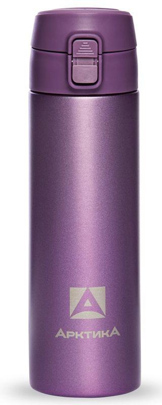 Термос-сититерм Арктика, вакуумный, цвет: фиолетовый, 0,5 лТермос 705-500ф АрктикаТЕРМОС ПИТЬЕВОЙ Назначение Для напитков Материал Пищевая нержавеющая сталь 18/8 Держит тепло/холод (ч) 8 Объем (мл) 500 мл