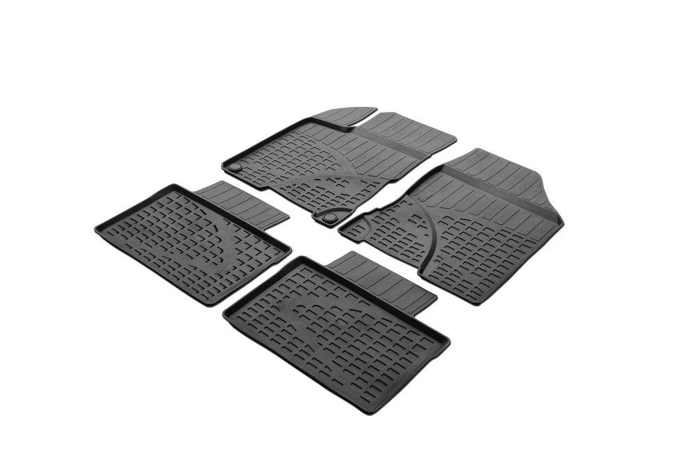 Ковры салона Rival для Hyundai i40 2016-0012303001Автомобильные ковры салона Rival Прочные и долговечные ковры в салон автомобиля, изготовлены из высококачественного и экологичного сырья, полностью повторяют геометрию салона вашего автомобиля. - Надежная система крепления, позволяющая закрепить коврик на штатные элементы фиксации, в результате чего отсутствует эффект скольжения по салону автомобиля. - Высокая стойкость поверхности к стиранию. - Специализированный рисунок и высокий борт, препятствующие распространению грязи и жидкости по поверхности ковра. - Перемычка задних ковров в комплекте предотвращает загрязнение тоннеля карданного вала. - Произведены из первичных материалов, в результате чего отсутствует неприятный запах в салоне автомобиля. - Высокая эластичность, можно беспрепятственно эксплуатировать при температуре от -45 ?C до +45 ?C. Уважаемые клиенты! Обращаем ваше внимание, что ковры имеют форму соответствующую модели данного автомобиля. Фотографии служат для визуального...