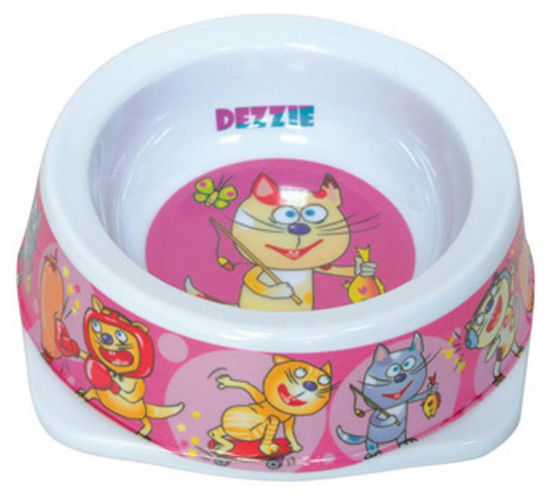 Миска для кошек Dezzie Рыбак, 150 мл5619004Миска для кошек Dezzie Рыбак, выполненная из пластика и оформленная красочным изображением, отличается легкостью и удобством применения. Она легко моется и быстро высыхает. Миска имеет резиновые антискользящие вставки. Размер миски: 12,5 x 12,5 x 4,5 см. Объем миски: 150 мл.