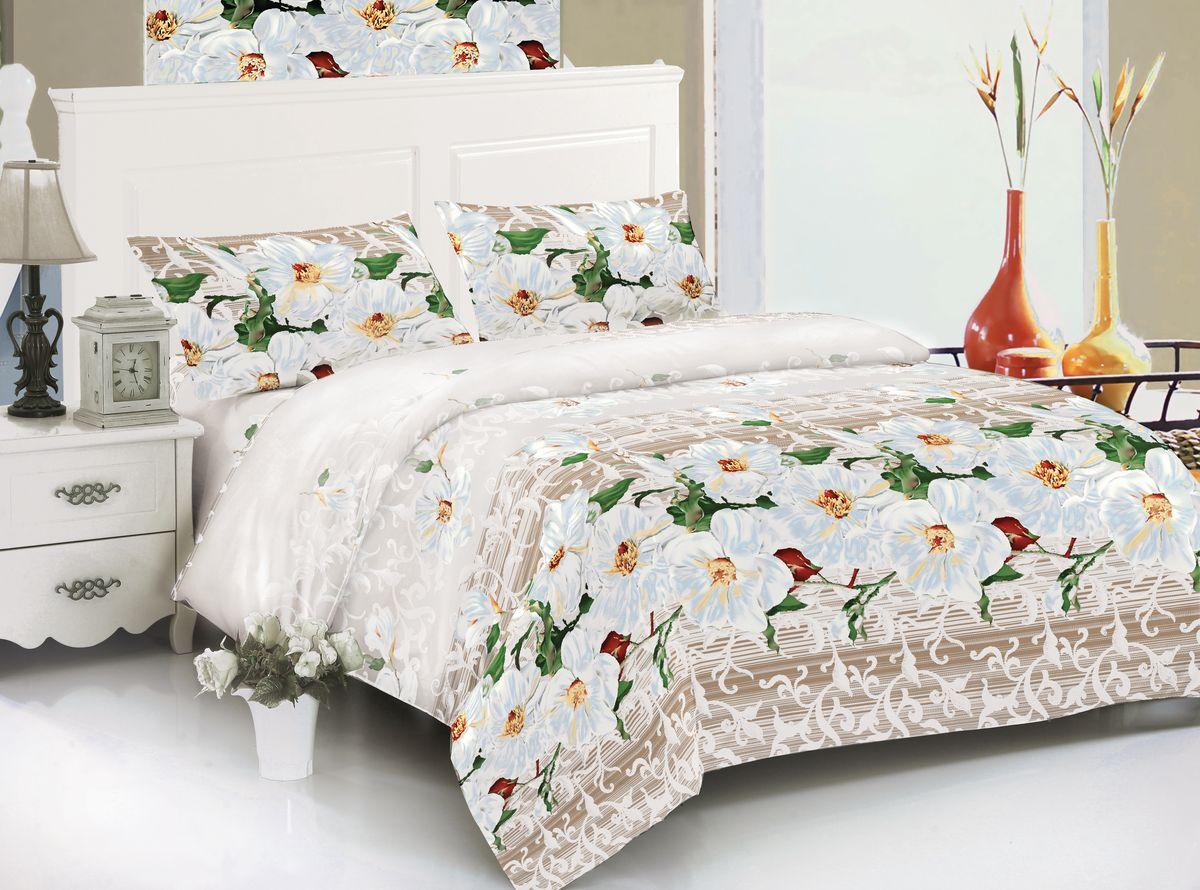 Комплект белья Amore Mio Haley, 2-спальный, наволочки 70x70, цвет: молочный, бежевый, зеленый82618Amore Mio – Комфорт и Уют - Каждый день! Amore Mio предлагает оценить соотношению цены и качества коллекции. Разнообразие ярких и современных дизайнов прослужат не один год и всегда будут радовать Вас и Ваших близких сочностью красок и красивым рисунком. Мако-сатина - Свежее решение, для уюта на даче или дома, созданное с любовью для вашего комфорта и отличного настроения! Нано-инновации позволили открыть новую ткань, полученную, в результате высокотехнологического процесса, сочетает в себе широкий спектр отличных потребительских характеристик и невысокой стоимости. Легкая, плотная, мягкая ткань, приятна и практична с эффектом «персиковой кожуры». Отлично стирается, гладится, быстро сохнет. Дисперсное крашение, великолепно передает качество рисунков, и необычайно устойчива к истиранию. Пр