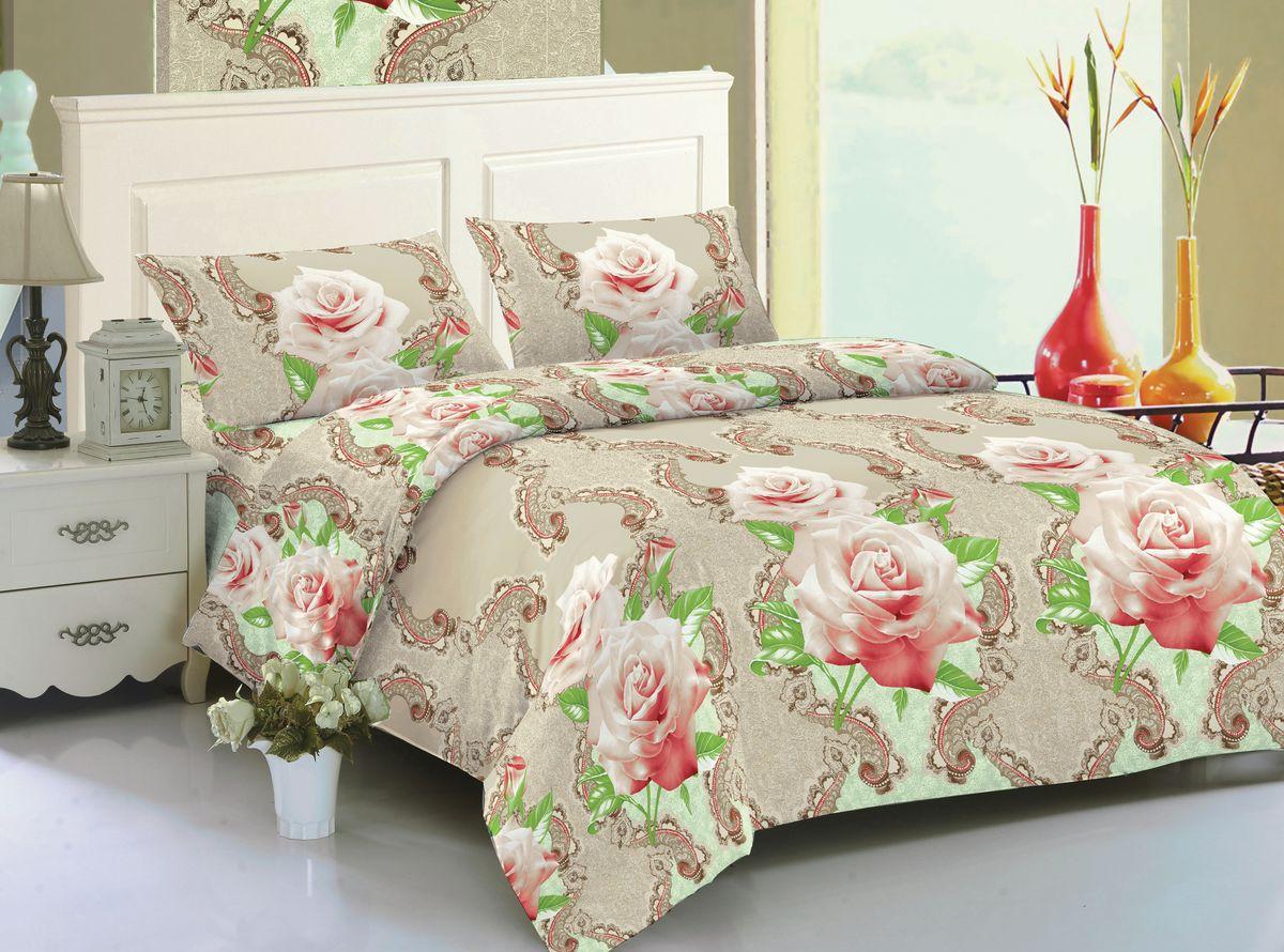 Комплект белья Amore Mio Gianna, 2-спальный, наволочки 70x70, цвет: бежевый, розовый, зеленый82628Amore Mio – Комфорт и Уют - Каждый день! Amore Mio предлагает оценить соотношению цены и качества коллекции. Разнообразие ярких и современных дизайнов прослужат не один год и всегда будут радовать Вас и Ваших близких сочностью красок и красивым рисунком. Мако-сатина - Свежее решение, для уюта на даче или дома, созданное с любовью для вашего комфорта и отличного настроения! Нано-инновации позволили открыть новую ткань, полученную, в результате высокотехнологического процесса, сочетает в себе широкий спектр отличных потребительских характеристик и невысокой стоимости. Легкая, плотная, мягкая ткань, приятна и практична с эффектом «персиковой кожуры». Отлично стирается, гладится, быстро сохнет. Дисперсное крашение, великолепно передает качество рисунков, и необычайно устойчива к истиранию. Пр