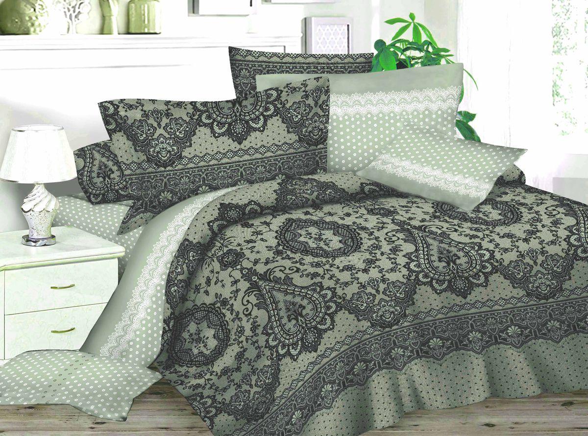 Комплект белья Amore Mio Winter, 1,5-спальный, наволочки 70x70, цвет: серый, черный, белый82882Комплект постельного белья Amore Mio является экологически безопасным для всей семьи, так как выполнен из сатина (100% хлопок). Постельное белье оформлено оригинальным рисунком и имеет изысканный внешний вид. Сатин - это ткань сатинового (атласного) переплетения нитей. Имеет гладкую, шелковистую лицевую поверхность, на которой преобладают уточные нити (уток - горизонтально расположенные в тканом полотне нити). Сатин изготавливается из крученой хлопковой нити двойного плетения. Он чрезвычайно приятен на ощупь, не электризуется и не скользит по кровати. Сатин прекрасно сохраняет форму и не мнется, отлично пропускает воздух, что позволяет телу дышать и дарит здоровый и комфортный сон. Комплект состоит из пододеяльника, простыни и двух наволочек.