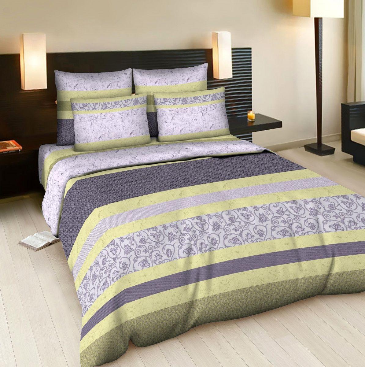 Комплект белья Amore Mio Suri, евро, наволочки 70x70, цвет: серый, желтый83349Постельное белье из бязи практично и долговечно, а самое главное - это 100% хлопок! Материал великолепно отводит влагу, отлично пропускает воздух, не капризен в уходе, легко стирается и гладится. Новая коллекция Naturel 3-D дизайнов позволит выбрать постельное белье на любой вкус!
