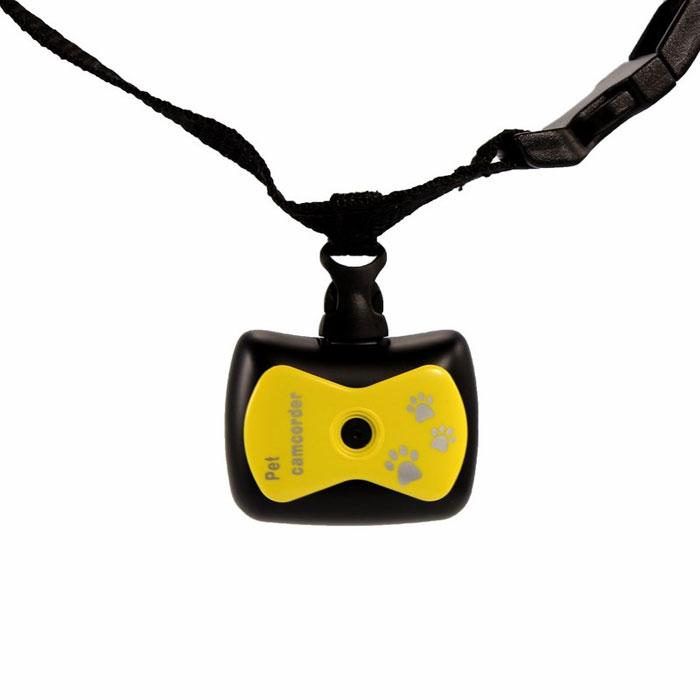 Экшн камера для животных Monella, с функцией видеорегистратора. Цвет: желтый45-0237Камера: 0.3 Мп Разрешение видео: «HI» :VQA (640x480 пикс.), «LO»: QVGA(320x240 пикс.) Разрешение фото съемки: «HI» :1,3 Мп (1280x1024), «LO»: 0,3 Мп (640x480) Формат видео: AVI Формат звука: WAV Карта памяти (в комплект не входит): TF (объемом до 32 Гб) Дисплей: Монохромный ЖК-дисплей USB: 2.0 Питание: 3,7 В перезаряжаемый аккумулятор Ошейник для надежного крепления камеры