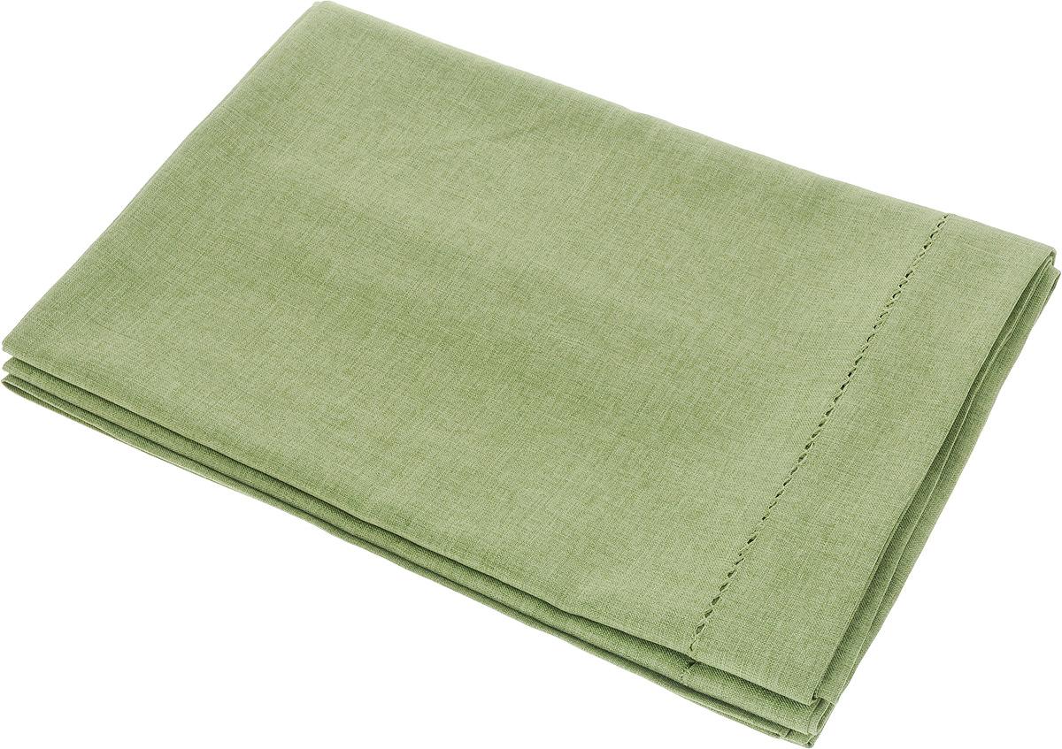 Скатерть Schaefer, прямоугольная, цвет: зеленый, 160 x 220 см. 07602-40807602-408Прямоугольная скатерть Schaefer, выполненная из полиэстера, станет украшением кухонного стола. Вдоль края изделие оформлено декоративной перфорацией. За текстилем из полиэстера очень легко ухаживать: он не мнется, не садится и быстро сохнет, легко стирается, более долговечен, чем текстиль из натуральных волокон. Использование такой скатерти сделает застолье торжественным, поднимет настроение гостей и приятно удивит их вашим изысканным вкусом. Также вы можете использовать эту скатерть для повседневной трапезы, превратив каждый прием пищи в волшебный праздник и веселье. Это текстильное изделие станет изысканным украшением вашего дома!