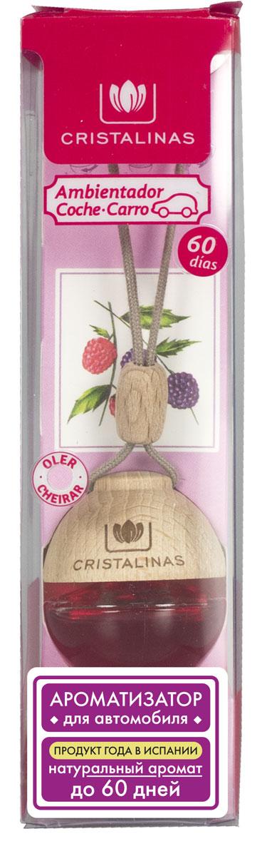 Ароматизатор автомобильный Cristalinas Auto, подвесной, лесные ягоды310888Подвесной ароматизатор Cristalinas наполнит салон вашего автомобиля натуральным ароматом лесных ягод, нейтрализуя неприятные запахи, застоявшиеся в салоне. Например, от еды, обуви и сигарет. Приятный аромат будет сопровождать вас на протяжение всего использования. Универсальный и в то же время изящный дизайн ароматизатора будет гармонично сочетаться с интерьером любого автомобиля, доставляя эстетическое удовольствие. Способ применения: 1. Открутите деревянную крышку и извлеките колпачок. 2. Закрутите деревянную крышку, повесьте на зеркало заднего вида, затянув во избежание контакта с лобовым стеклом во время движения. 3. Переверните ёмкость и держите в таком положении не дольше 5 сек. Способ хранения: хранить в недоступном для детей месте. Меры предосторожности: не употреблять внутрь. Избегать попадания в глаза и прямого контакта с кожей (может вызвать аллергическую реакцию). При попадании на кожу тщательно промыть ее проточной водой с мылом. При попадании...
