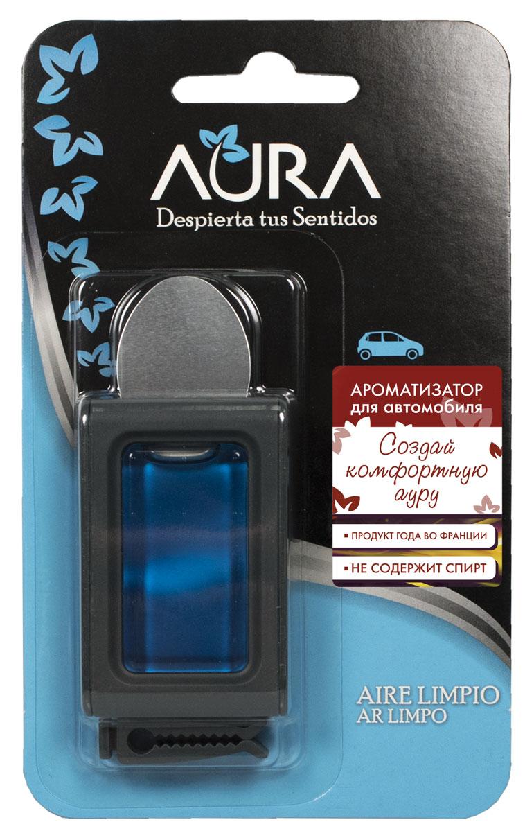Ароматизатор автомобильный Aura Auto, на решетку, утренняя свежесть313568Салон автомобиля имеет особенность накапливать неприятные запахи. Особенно это относится к топливу, сигаретному дыму и выхлопным газам. Поэтому очень важно подобрать хороший ароматизатор, который будет наполнять салон более приятным ароматом. Ароматизатор Aura наполнит салон автомобиля приятным ароматом утренней свежести и сохраняет его в течение долгого времени. Способ применения: снимите металлическую защитную полосу с обратной стороны ароматизатора. Вставьте зажим на задней стороне корпуса в горизонтальном или вертикальном положении. Прикрепите на решётку кондиционера в горизонтальном или вертикальном положении. Способ хранения: хранить в недоступном для детей месте. Меры предосторожности: не употреблять внутрь. Избегать попадания в глаза и прямого контакта с кожей (может вызвать аллергическую реакцию). При попадании на кожу тщательно промыть ее проточной водой с мылом. При попадании в глаза промыть их в течение нескольких минут. Токсичный для водных организмов с...