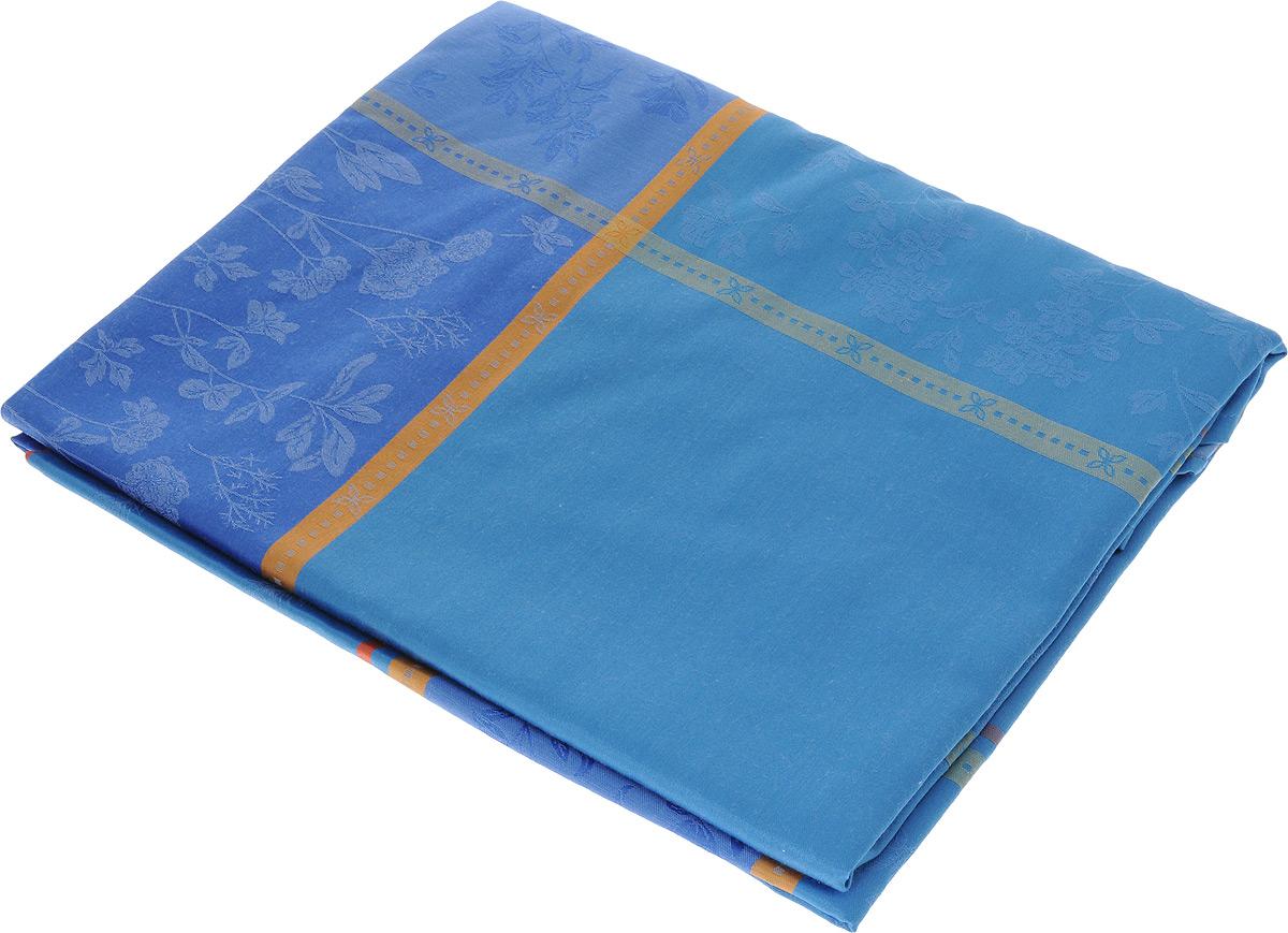 Скатерть Schaefer, прямоугольная, цвет: синий, 160 x 220 см. 05760-43905760-439Прямоугольная скатерть Schaefer, выполненная из полиэстера с оригинальным рисунком, станет изысканным украшением кухонного стола. За текстилем из полиэстера очень легко ухаживать: он не мнется, не садится и быстро сохнет, легко стирается, более долговечен, чем текстиль из натуральных волокон. Использование такой скатерти сделает застолье торжественным, поднимет настроение гостей и приятно удивит их вашим изысканным вкусом. Также вы можете использовать эту скатерть для повседневной трапезы, превратив каждый прием пищи в волшебный праздник и веселье. Это текстильное изделие станет изысканным украшением вашего дома!
