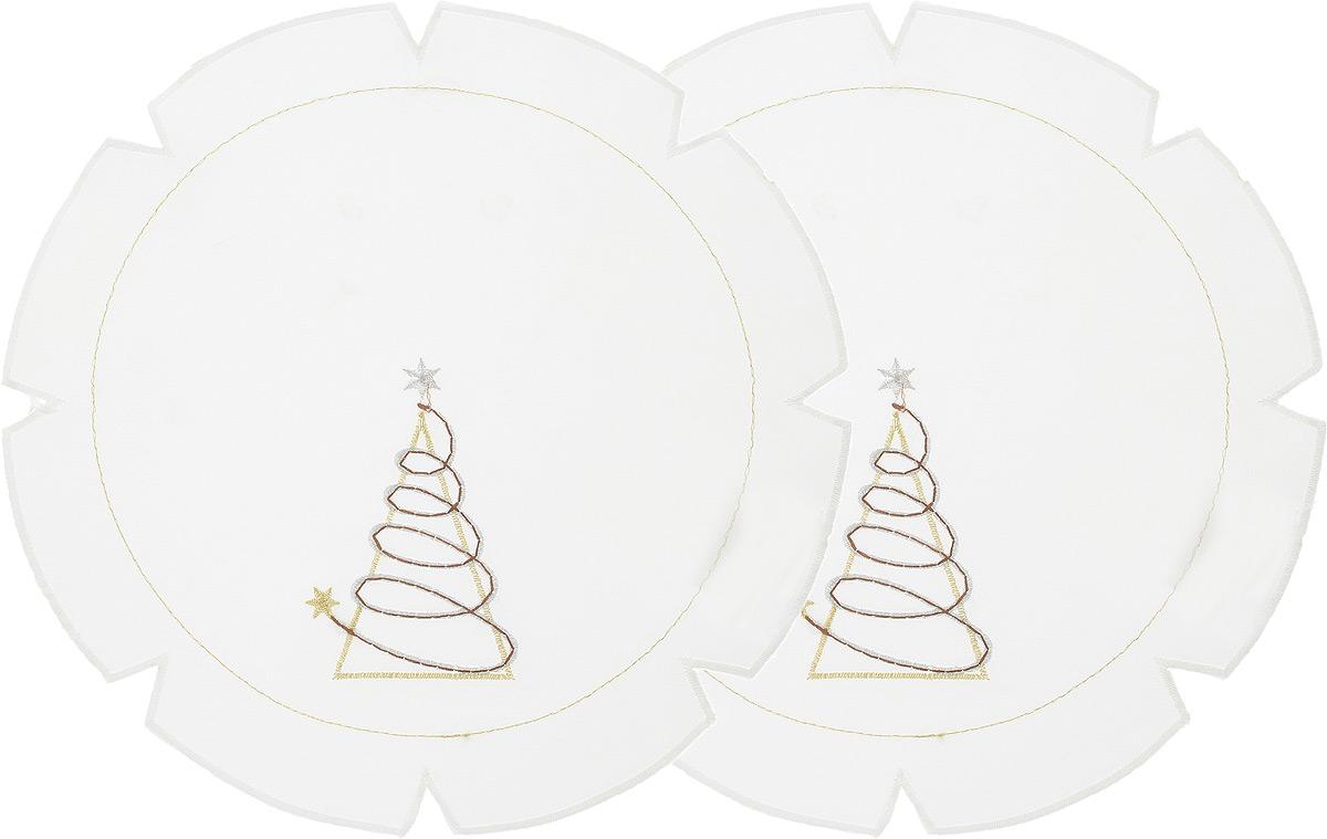 Набор салфеток Schaefer, диаметр 30 см, 2 шт. 07434-315-V2-B07434-315-V2-BНабор Schaefer, состоящий из двух салфеток, выполнен из полиэстера и оформлен вышивкой. Дизайнерские идеи немецких художников компании Schaefer воплощаются в текстильных изделиях, которые сделают ваш дом красивее и уютнее и не останутся незамеченными вашими гостями. Дарите себе и близким красоту каждый день! Диаметр салфетки: 30 см.