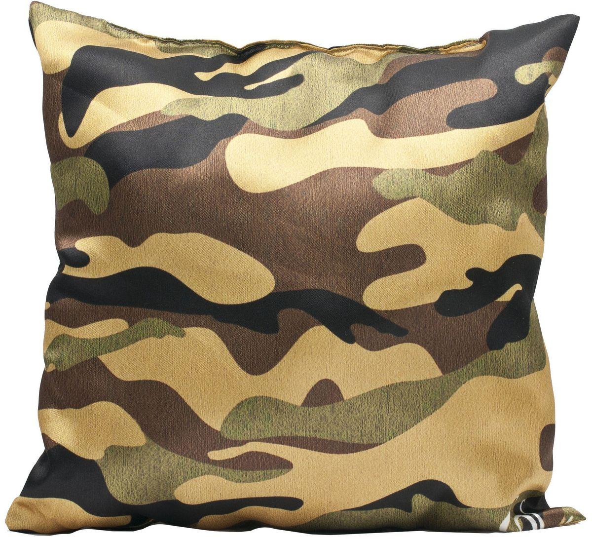 Подушка декоративная Главдор GL-527. Камуфляж, с рисунком, 30х30 смGL-527Декоративные подушки c апликацией в салон автомобиля.
