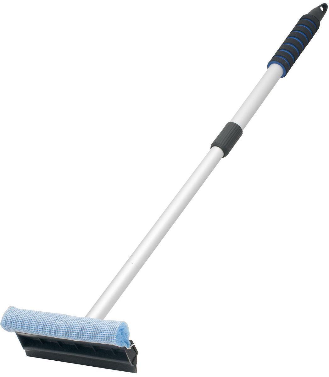 Водосгон Главдор GL-563, на телескопической ручке, цвет: голубойGL-563Телескопический, алюминиевый водосгон с удобным держателем из пенополиэтилена, длина раздвигающейся ручки55 - 85см. Снабжен резиновым лезвием и поролоновой губкой для эффективной очистки загрязненных поверхностей.
