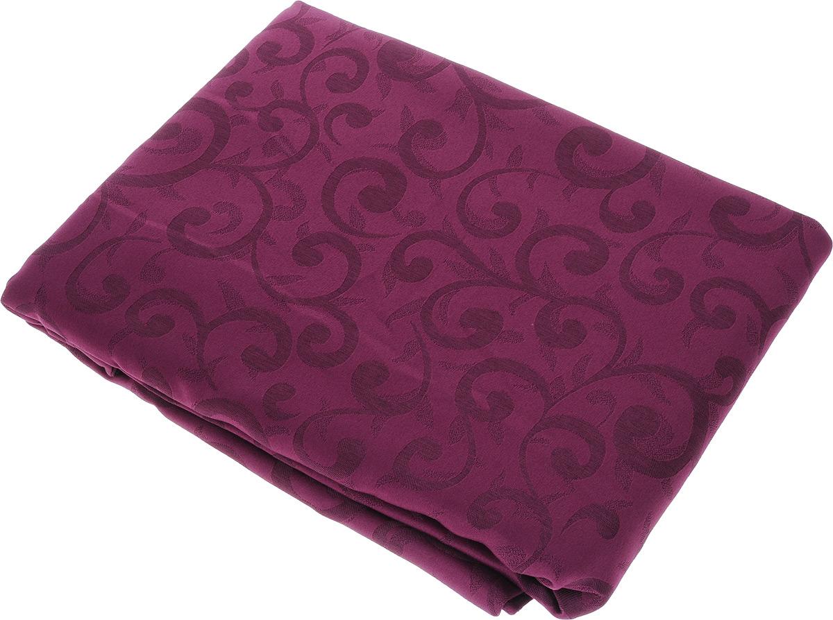 Скатерть Schaefer, овальная, цвет: сливовый, 160 x 220 см. 4161/Fb.044161/Fb.04 Скатерть, овал 160*220 смОвальная скатерть Schaefer, выполненная из полиэстера с оригинальным рисунком, станет изысканным украшением кухонного стола. За текстилем из полиэстера очень легко ухаживать: он не мнется, не садится и быстро сохнет, легко стирается, более долговечен, чем текстиль из натуральных волокон. Использование такой скатерти сделает застолье торжественным, поднимет настроение гостей и приятно удивит их вашим изысканным вкусом. Также вы можете использовать эту скатерть для повседневной трапезы, превратив каждый прием пищи в волшебный праздник и веселье. Это текстильное изделие станет изысканным украшением вашего дома!