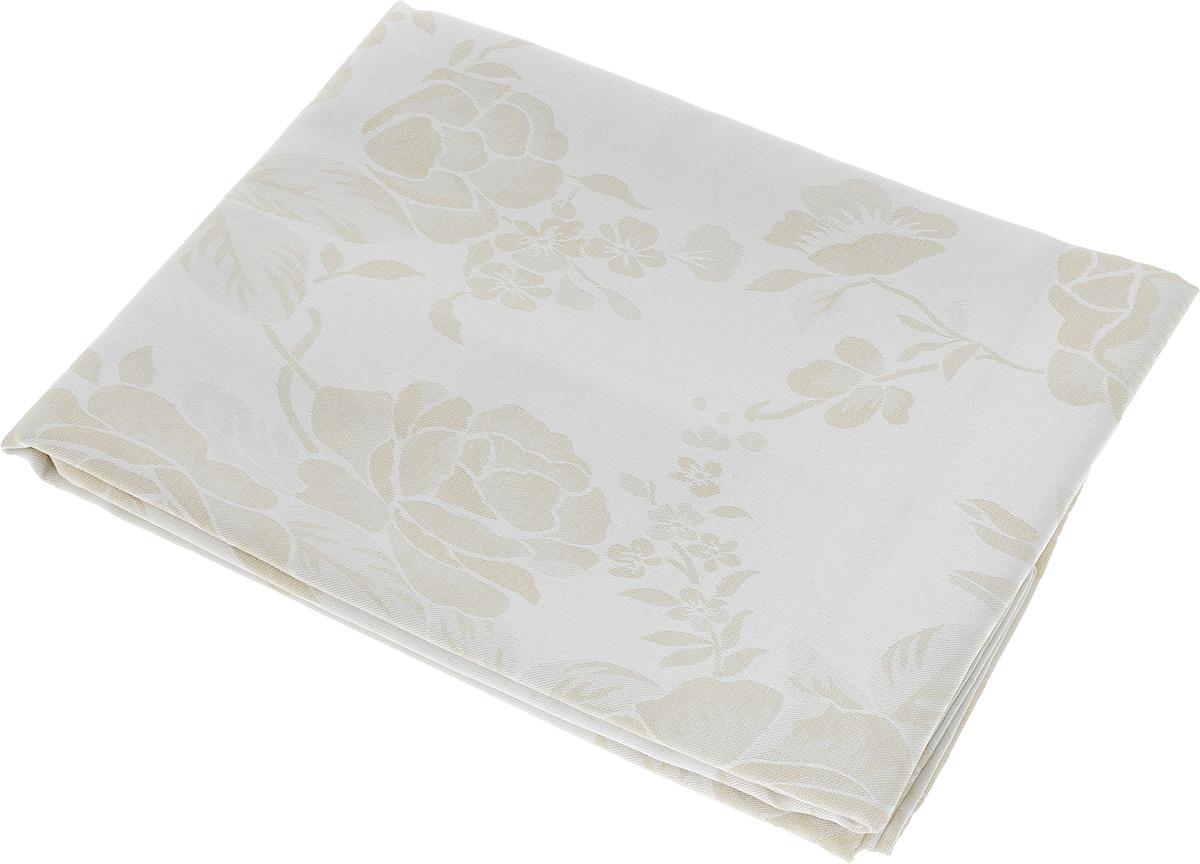 Скатерть Schaefer, прямоугольная, цвет: молочный, бежевый, 130 х 170 см. 07837-42907837-429Прямоугольная скатерть Schaefer, выполненная из полиэстера с оригинальным рисунком, станет изысканным украшением кухонного стола. За текстилем из полиэстера очень легко ухаживать: он не мнется, не садится и быстро сохнет, легко стирается, более долговечен, чем текстиль из натуральных волокон. Использование такой скатерти сделает застолье торжественным, поднимет настроение гостей и приятно удивит их вашим изысканным вкусом. Также вы можете использовать эту скатерть для повседневной трапезы, превратив каждый прием пищи в волшебный праздник и веселье. Это текстильное изделие станет изысканным украшением вашего дома!