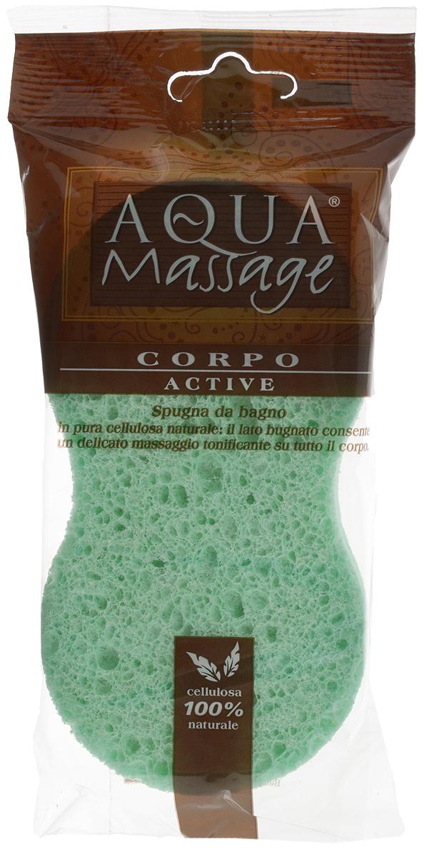 Губка для тела Arix Aqua Massage, ребристая, с массажным эффектом, цвет: зеленый, 14 х 8,5 х 3,5 смAR175_зеленыйГубка для тела Arix изготовлена из натуральной целлюлозы с ребристой поверхностью и массажным эффектом. Изделие хорошо впитывает, легко принимает удобную форму в руке. При использовании обеспечивает бережный уход за телом.