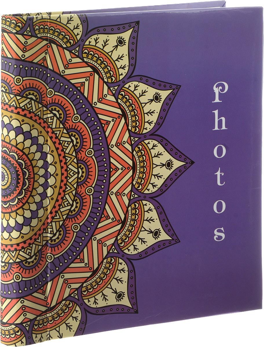 Фотоальбом Platinum Орнамент, цвет: фиолетовый, 30 листов. 9820-303М2313_фиолетовый/9820-30Фотоальбом Platinum Орнамент, изготовленный из ламинированного картона с клеевым покрытием и пленки ПВХ, поможет сохранить вам самые важные и счастливые события вашей жизни. Этот альбом станет драгоценной памятью для всей вашей семьи. Обложка выполнена из толстого картона и оформлена оригинальным рисунком. Внутри содержится 30 магнитных листов, которые крепятся с помощью спирали. Нам всегда так приятно вспоминать о самых счастливых моментах жизни, запечатленных на фотографиях. Размер листа: 23 х 28 см.