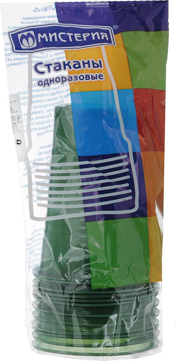 Набор одноразовых стаканов Мистерия, цвет: зеленый, 200 мл, 12 шт. 181511181511_зеленыйНабор Мистерия состоит из 12 стаканов, выполненных из полипропилена и предназначенных для одноразового использования. Одноразовые стаканы будут незаменимы при поездках на природу, пикниках и других мероприятиях. Они не займут много места, легки и самое главное - после использования их не надо мыть. Диаметр стакана (по верхнему краю): 7 см. Высота стакана: 9,5 см. Объем: 200 мл.