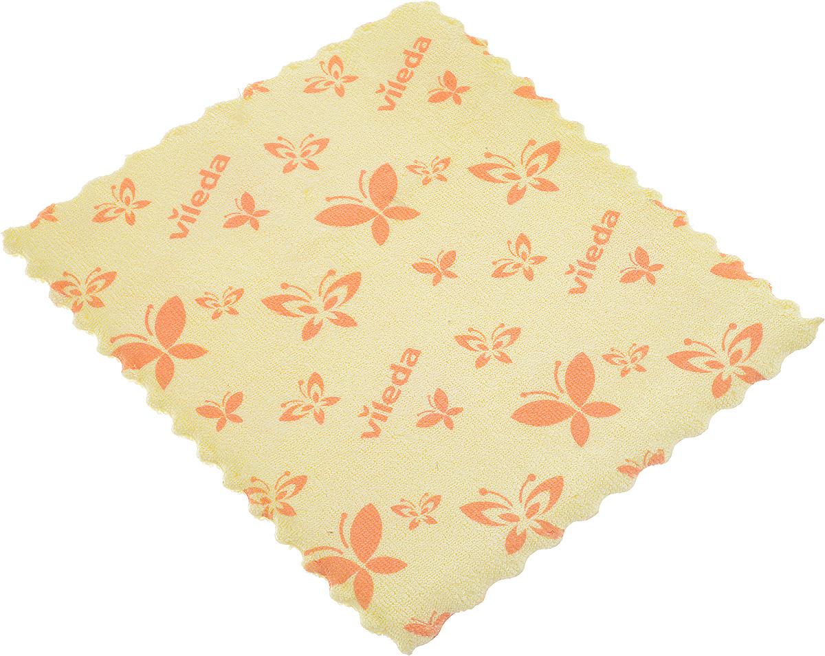 Салфетка универсальная Vileda, цвет: желтый, 17 х 20 см321107301Универсальная салфетка Vileda предназначена для сухой и влажной уборки. В сухом виде - для удаления пыли, во влажном - для удаления загрязнений и полировки. Она устраняет жир, грязь без следа и разводов. Изделие используется без чистящих средств. Размер: 19 х 17 см.