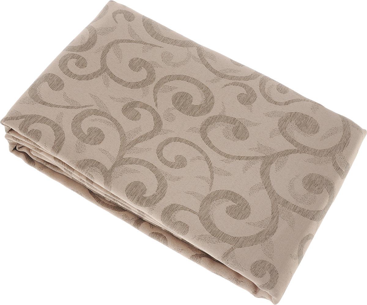 Скатерть Schaefer, прямоугольная, цвет: бежевый, светло-коричневый, 160 x 280 см. 4161/Fb.064161/Fb.06 Скатерть, 160*280 смПрямоугольная скатерть Schaefer, выполненная из полиэстера с оригинальным рисунком, станет изысканным украшением кухонного стола. За текстилем из полиэстера очень легко ухаживать: он не мнется, не садится и быстро сохнет, легко стирается, более долговечен, чем текстиль из натуральных волокон. Использование такой скатерти сделает застолье торжественным, поднимет настроение гостей и приятно удивит их вашим изысканным вкусом. Также вы можете использовать эту скатерть для повседневной трапезы, превратив каждый прием пищи в волшебный праздник и веселье. Это текстильное изделие станет изысканным украшением вашего дома!