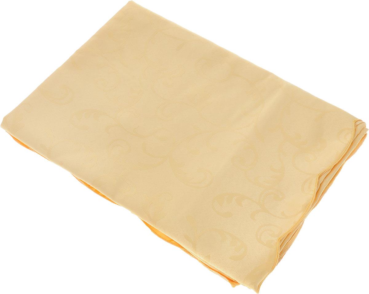 Скатерть Schaefer, прямоугольная, цвет: желтый, 130 x 190 см. 4121/Fb.054121/Fb.05 Скатерть, 130*190 смПрямоугольная скатерть Schaefer, выполненная из полиэстера с оригинальным рисунком, станет изысканным украшением кухонного стола. За текстилем из полиэстера очень легко ухаживать: он не мнется, не садится и быстро сохнет, легко стирается, более долговечен, чем текстиль из натуральных волокон. Использование такой скатерти сделает застолье торжественным, поднимет настроение гостей и приятно удивит их вашим изысканным вкусом. Также вы можете использовать эту скатерть для повседневной трапезы, превратив каждый прием пищи в волшебный праздник и веселье. Это текстильное изделие станет изысканным украшением вашего дома!