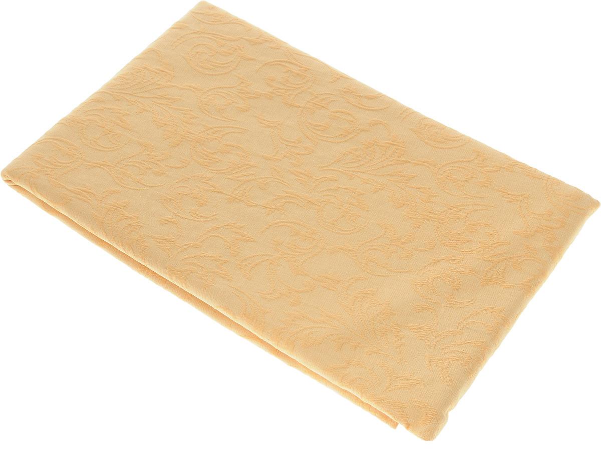 Скатерть Schaefer, круглая, цвет: желто-оранжевый, диаметр 170 см. 4127/Fb.174127/Fb.17 Скатерть, диаметр 170 см