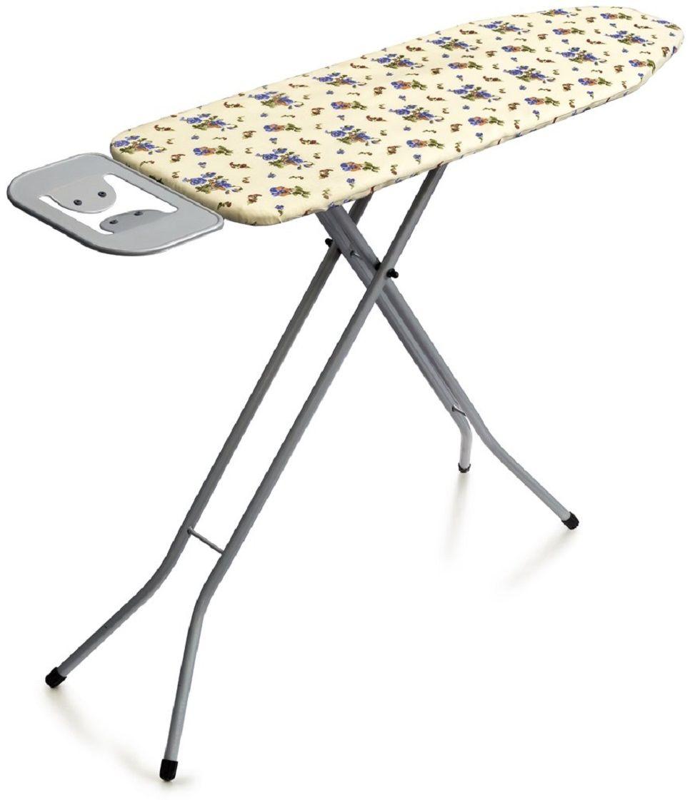 Доска гладильная Perilla Сити/City, с подключением к электросети, 110 х 33 см223712Доска гладильная Perilla Сити/City-гладильный стол на металлической сетке, покрытой электростатической порошковой краской. Перфорированная сетчатая основа позволяет лучшему прохождению пара. Съемный чехол из хлопка плотно прилегает к поверхности и не скользит. Поверхность размером 110х33 см предоставит комфорт и удобство для разных вещей. Подставка под утюг с антипригарными силиконовыми вставками. Устойчивая модель с механизмом регулировки высоты в пределах 70–90 см. Для утюга предусмотрена встроенная сертифицированная электророзетка. Вакуумная прозрачная упаковка.