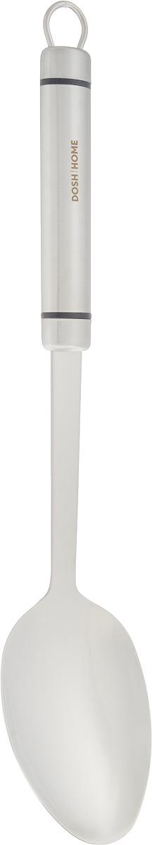 Ложка кулинарная Dosh Home Orion, длина 34,5 см100104Кулинарная ложка Dosh Home Orion изготовлена из высококачественной нержавеющей стали. Удобная рукоятка оснащена петелькой для подвешивания. Практичная и удобная ложка займет достойное место среди ваших кухонных принадлежностей. Можно мыть в посудомоечной машине. Длина ложки: 34,5 см. Размер рабочей части: 7 х 10,5 см.