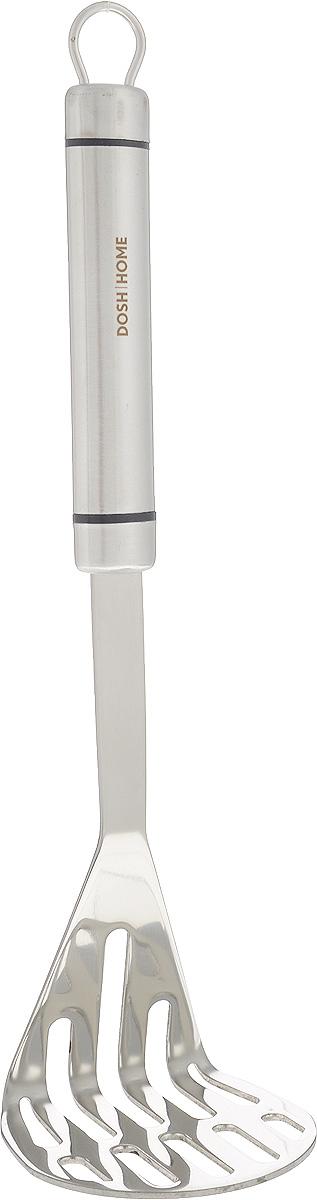 Картофелемялка Dosh Home Orion, длина 30 см100109Картофелемялка Dosh Home Orion изготовлена из высококачественной нержавеющей стали. Удобная рукоятка оснащена ушком для подвешивания. Практичная и удобная картофелемялка займет достойное место среди ваших кухонных принадлежностей. Можно мыть в посудомоечной машине. Длина картофелемялки: 30 см. Размер рабочей поверхности: 8 х 8 см.
