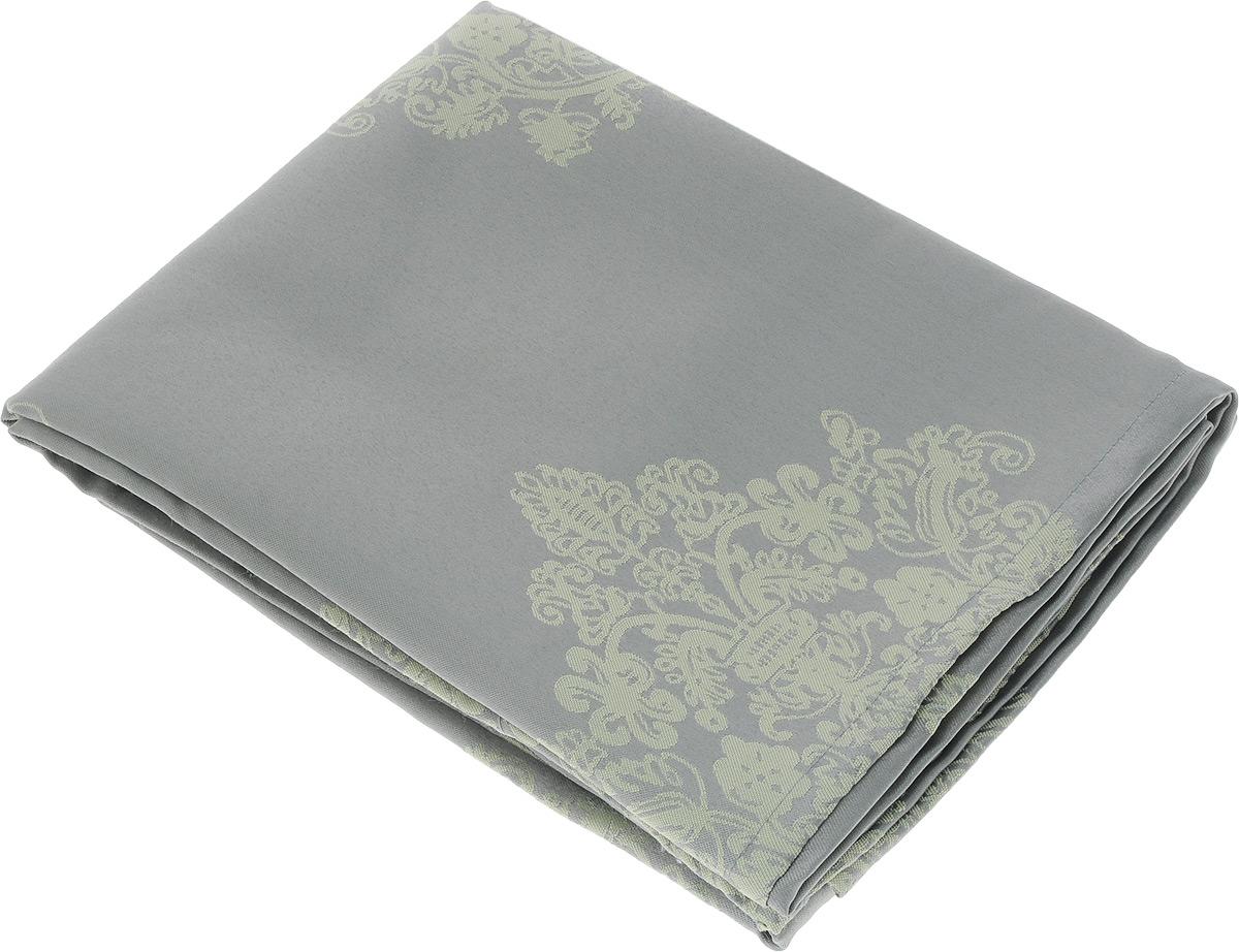 Скатерть Schaefer, прямоугольная, цвет: серый, светло-желтый, 160 х 220 см. 07810-40807810-408Прямоугольная скатерть Schaefer, выполненная из полиэстера с оригинальным рисунком, станет изысканным украшением кухонного стола. За текстилем из полиэстера очень легко ухаживать: он не мнется, не садится и быстро сохнет, легко стирается, более долговечен, чем текстиль из натуральных волокон. Использование такой скатерти сделает застолье торжественным, поднимет настроение гостей и приятно удивит их вашим изысканным вкусом. Также вы можете использовать эту скатерть для повседневной трапезы, превратив каждый прием пищи в волшебный праздник и веселье. Это текстильное изделие станет изысканным украшением вашего дома!