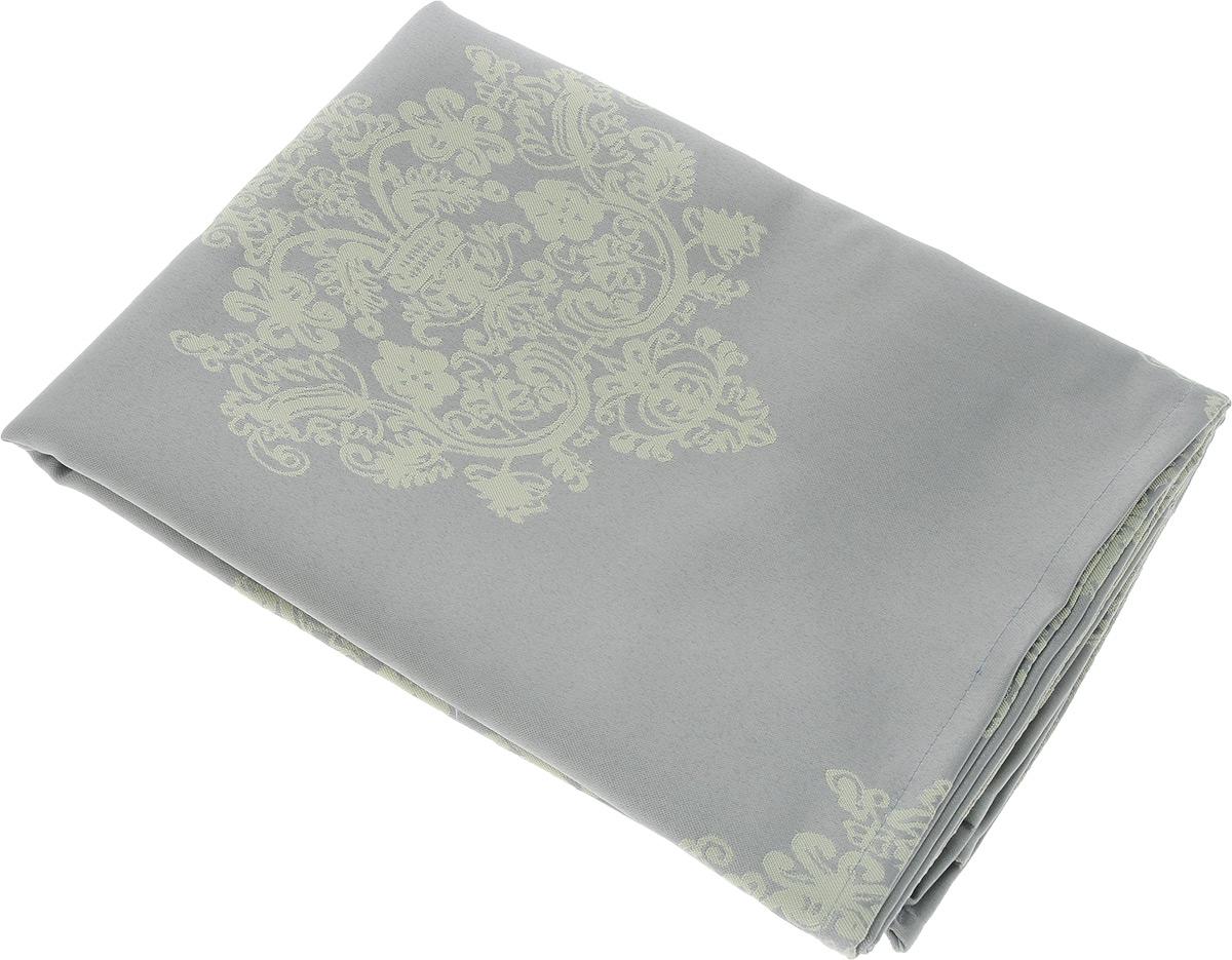 Скатерть Schaefer, квадратная, цвет: серый, желтый, 150 х 150 см. 07810-41607810-416Квадратная скатерть Schaefer, выполненная из полиэстера с оригинальным рисунком, станет изысканным украшением кухонного стола. За текстилем из полиэстера очень легко ухаживать: он не мнется, не садится и быстро сохнет, легко стирается, более долговечен, чем текстиль из натуральных волокон. Использование такой скатерти сделает застолье торжественным, поднимет настроение гостей и приятно удивит их вашим изысканным вкусом. Также вы можете использовать эту скатерть для повседневной трапезы, превратив каждый прием пищи в волшебный праздник и веселье. Это текстильное изделие станет изысканным украшением вашего дома!
