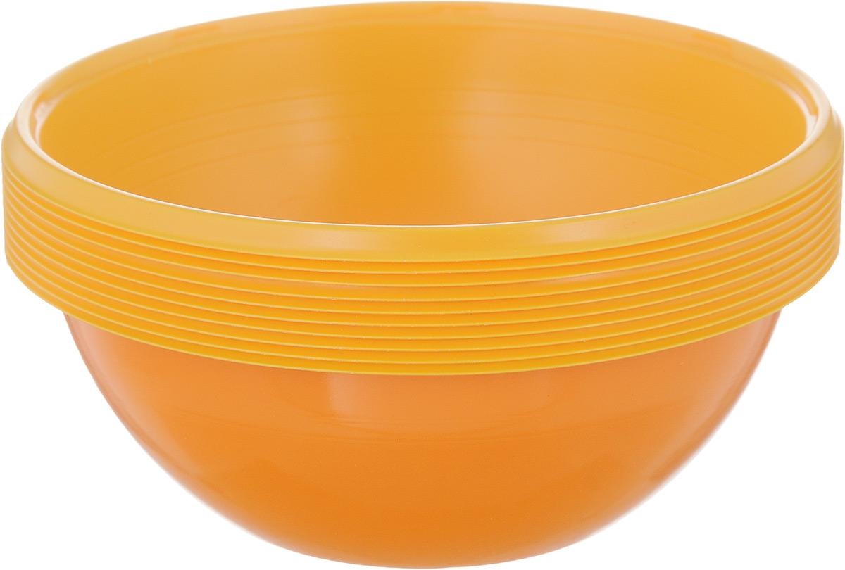 Набор одноразовых салатников Buffet Biсolor. Бразильский апельсин, 380 мл, 10 шт182960Набор Buffet Biсolor. Бразильский апельсин состоит из 10 салатников. Изделия, изготовленные из высококачественной полистирола, сочетают в себе изысканный дизайн с максимальной функциональностью. Одноразовые салатники незаменимы в поездках на природу и на пикниках. Они не займут много места, легки и самое главное - после использования их не надо мыть. Диаметр салатника (по верхнему краю): 12 см. Высота стенки: 4,5 см.