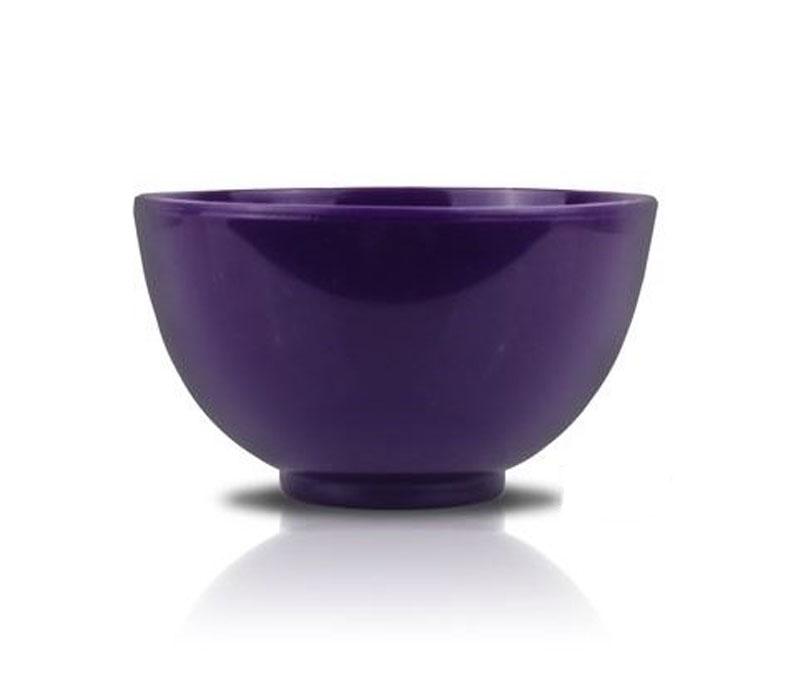 Anskin Чаша для размешивания маски Rubber Ball (Purple), 300 ссАН33Чаша для смешивания альгинатной маски со специальным активатором или водой. Специальная посуда эргономичной формы позволяет быстро и просто приготовить смесь без риска разбрызгивания. Изготовлена из экологически безопасного материала, который не вступает во взаимодействие с косметическими средствами и не влияет на их состав. Вместительность чаши, которая может использоваться для приготовления и других смесей, позволяет приготовить маску для рук, лица и даже волос. Идеально подходит для применения с косметической спатулой ANSKIN Spatula.