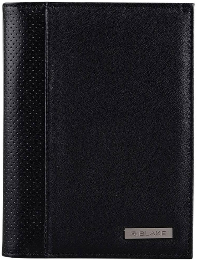 Обложка для автодокументов мужская R.Blake Cover mix sport, цвет: черный. GCVM00-000000-C1401O-K101GCVM00-000000-C1401O-K101Функциональная обложка для автодокументов выполнена из качественной натуральной кожи. Внутри отделение для паспорта, 4 прорезных кармана для карт, 2 открытых кожаных кармана. Пластиковый блок (6 карманов) позволяет рационально разместить все необходимые документы, в т. ч. страховку.