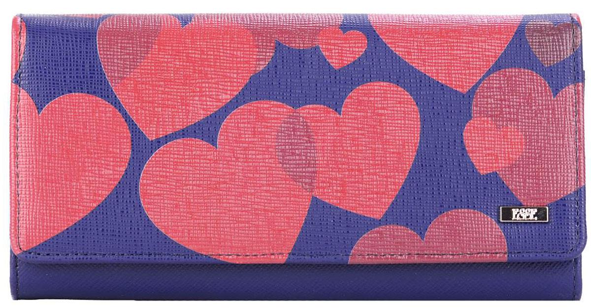 Кошелек женский Esse Радо Jeans, цвет: синий, розовый. GRDO00-00MG00-FG808O-K100GRDO00-00MG00-FG808O-K100Esse Радо Jeans - это большой вместительный кошелек. Он имеет 3 широких отделения для купюр и 4 дополнительных открытых кармана, 6 прорезных карманов для кредитных карт (одно в виде кармана с пластиковым окном). На задней стенке - отделение для мелочи, закрывающееся на молнию. Кошелек закрывается на кнопку.