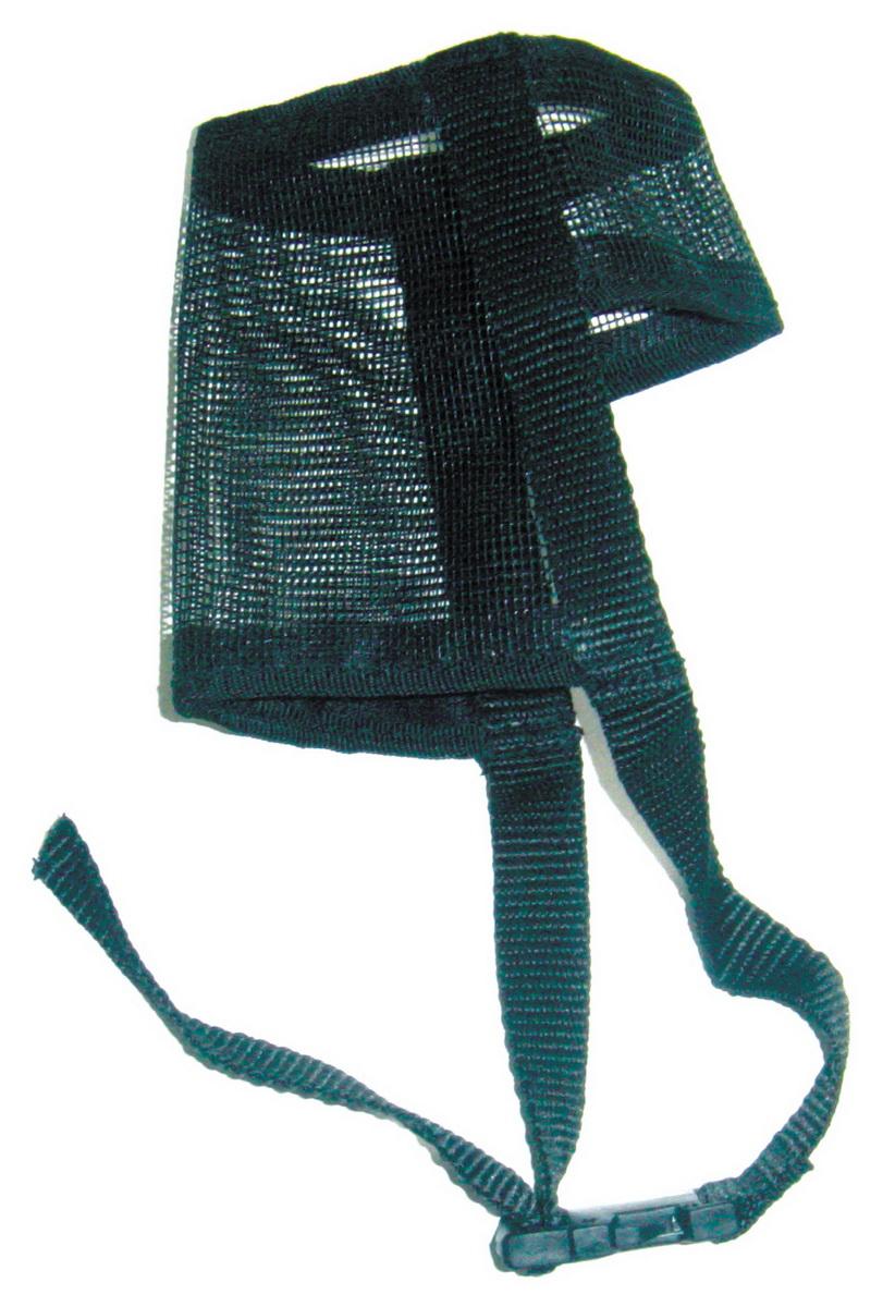 Намордник для собак Dezzie, размер S5601142Намордник изготовлен из мягкой и легкой нейлоновой сетки и легко стирается. Удобная застежка на липучке.