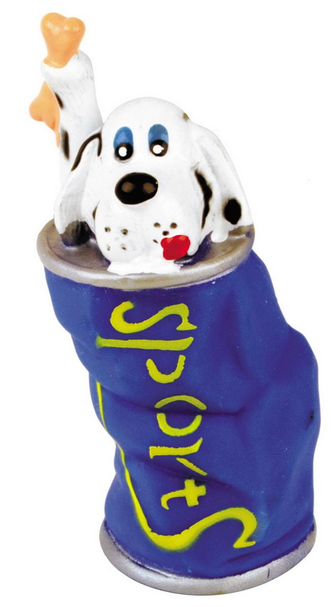 Игрушка для собак Dezzie Собака в банке, 13 см5604140Игрушка для собак DEZZIE из винила практична, функциональна и совершенно безопасна для здоровья животного. Ее легко мыть и дезинфицировать. Такая игрушка очень лёгкая, поэтому собаке совсем нетрудно брать ее в пасть и переносить с места на место. Игрушка из винила станет прекрасным подарком для неугомонного четвероногого питомца.