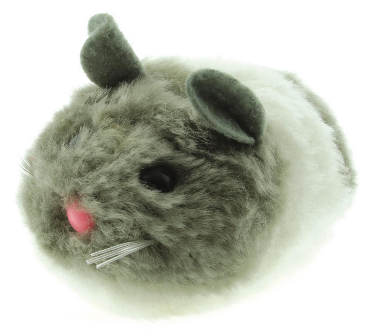 Игрушка для кошек Dezzie Мышь. Актив №3, цвет: серый, белый, 8 см5605093Игрушка для кошек Dezzie Мышь. Актив №3 изготовлена из искусственного меха и пластика. Такая игрушка порадует вашего любимца, а вам доставит массу приятных эмоций, ведь наблюдать за игрой всегда интересно и приятно. Игрушка Dezzie не только вызовет интерес у кошки, но и будет способствовать ее развитию. Все игрушки созданы из безопасных материалов высокого качества. Они будут долго служить и всегда смогут порадовать питомцев и их заботливых хозяев. Общая длина игрушки: 8 см.
