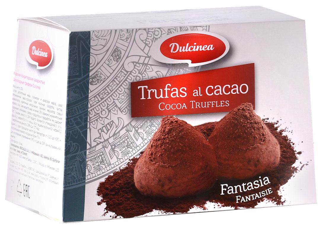 Dulsinea трюфели шоколадные, 200 г8410510105003Нежно-тающая дымка превосходного шоколада из Испании окутает вас блаженством. Этот десерт создан для истинных ценителей колоритных сладостей с ярким и изысканным вкусом.