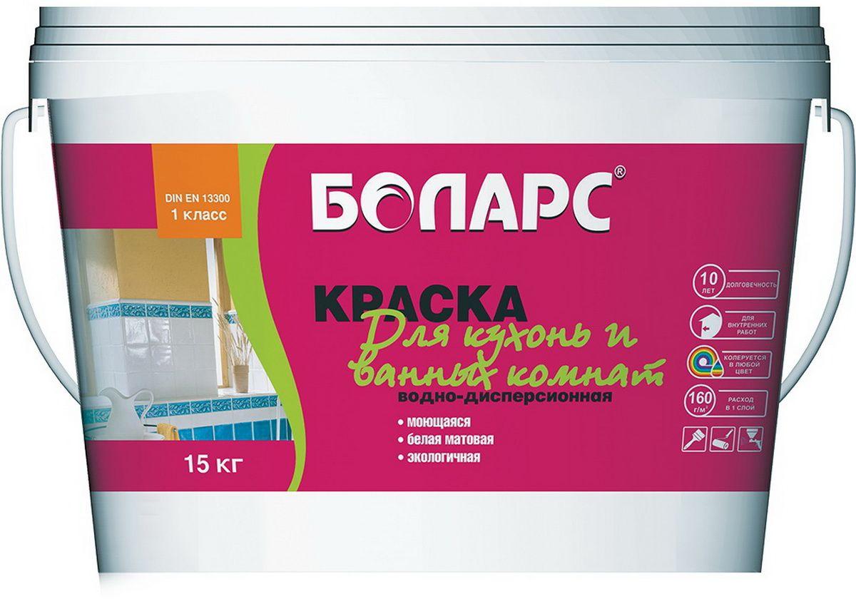 """Краска """"Боларс"""", для ванных и кухонных комнат, 15 кг БМ000008134"""