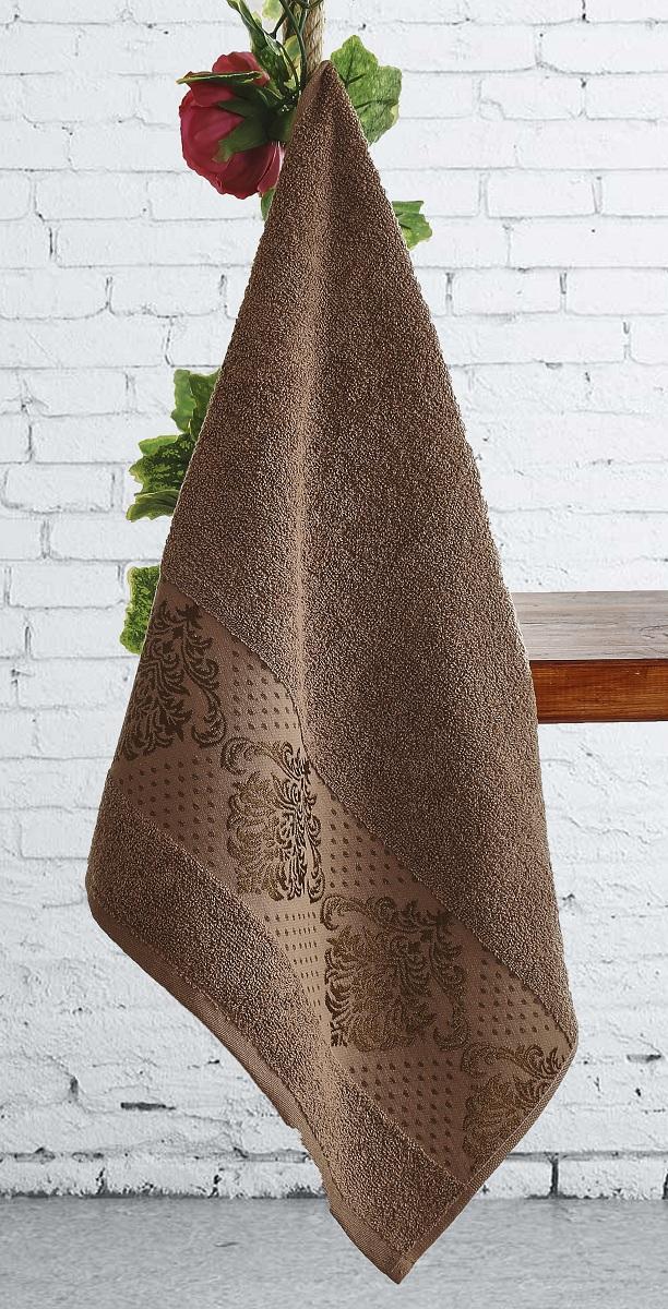 Полотенце Karna Dora, цвет: коричневый, 50 х 90 см, 6 шт2188/CHAR005