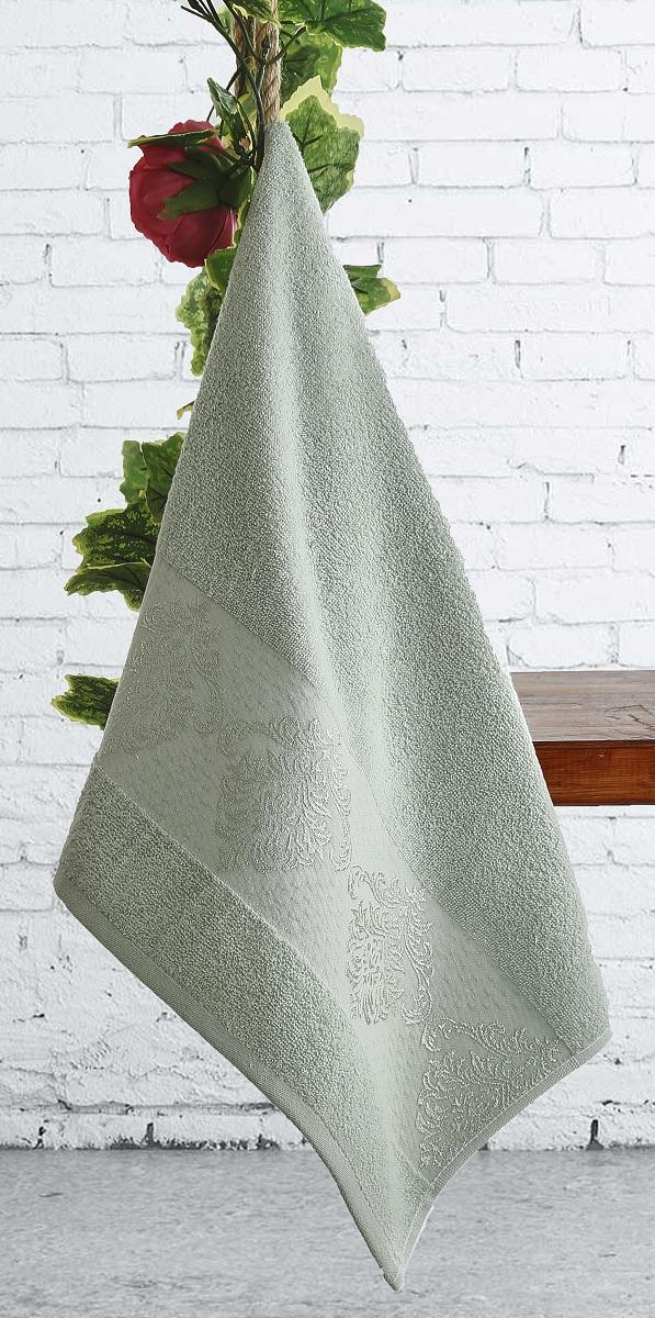 Полотенце Karna Dora, цвет: зеленый, 70 х 140 см2189/CHAR004