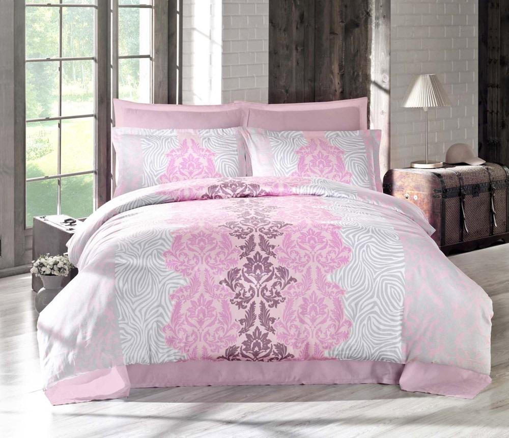 Комплект белья Altinbasak Vivid, 2-спальный, наволочки 50х70, цвет: сиреневый256/19/CHAR002