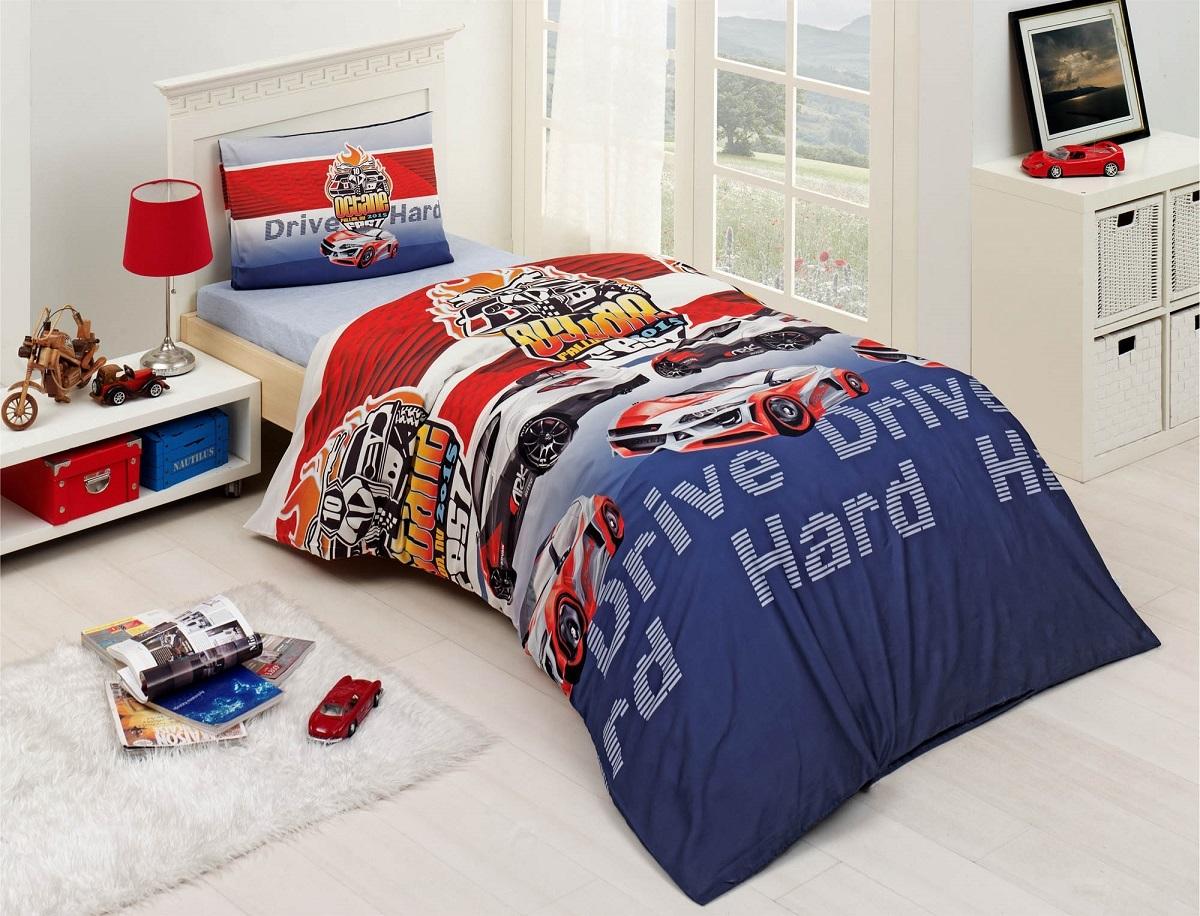 Комплект белья Altinbasak Drive, 1,5-спальный, наволочки 50х70296