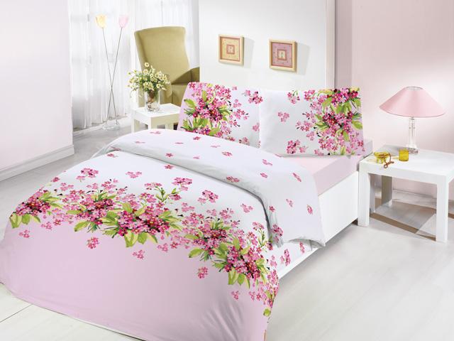 Комплект белья Altinbasak Sumbul, 2-спальный, наволочки 50х70, цвет: розовый297/36/CHAR001