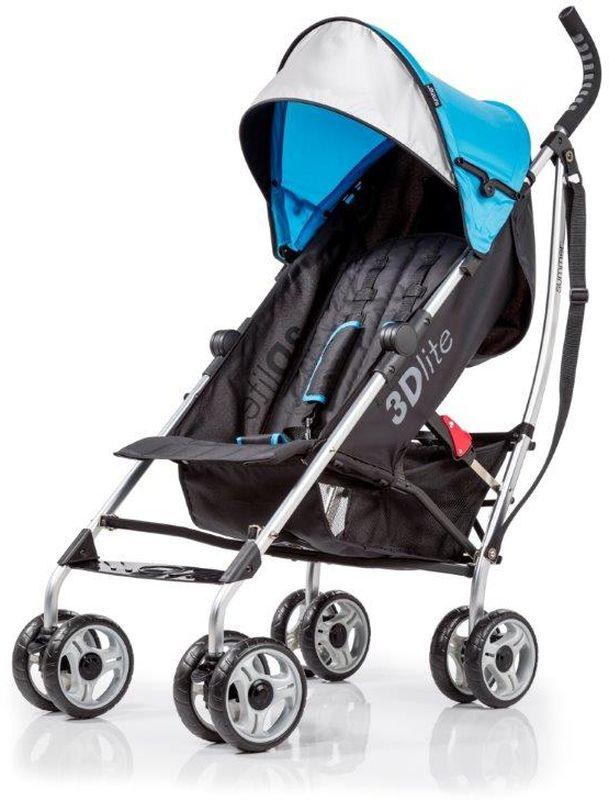 Summer Infant Коляска прогулочная 3D Lite цвет голубой
