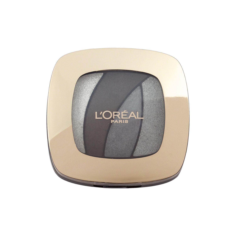 LOreal Paris Тени для век Color Riche, Квадро, оттенок S11, Cеребряный шелк, стойкие, 4,5 гA8629500Двусторонний аппликатор для профессионального нанесения. Традиционная кисточка для растушевки базовых цветов, углообразная кисточка для создания эффекта подводки.