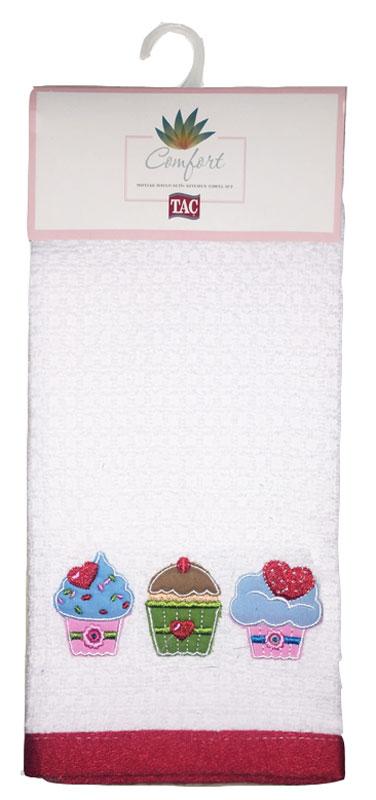 Набор кухонных полотенец TAC Cup Cakes, 40 x 60 см, 2 шт2999k-89688Практичные полотенца для кухни на каждый день.