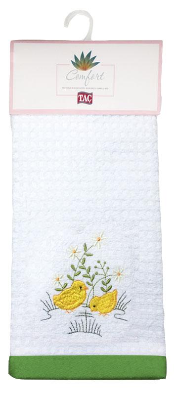 Набор кухонных полотенец TAC Yellow Chick, 40 x 60 см, 2 шт2999k-89693Практичные полотенца для кухни на каждый день.